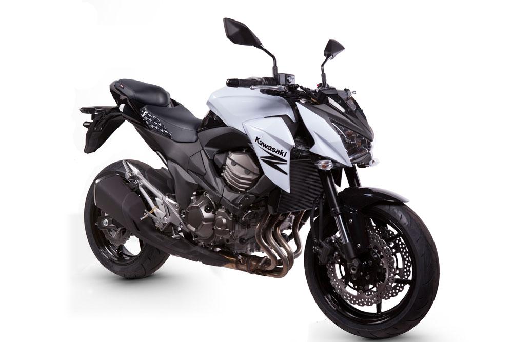 Asiento Shad Style con calefacción para la Kawasaki Z800
