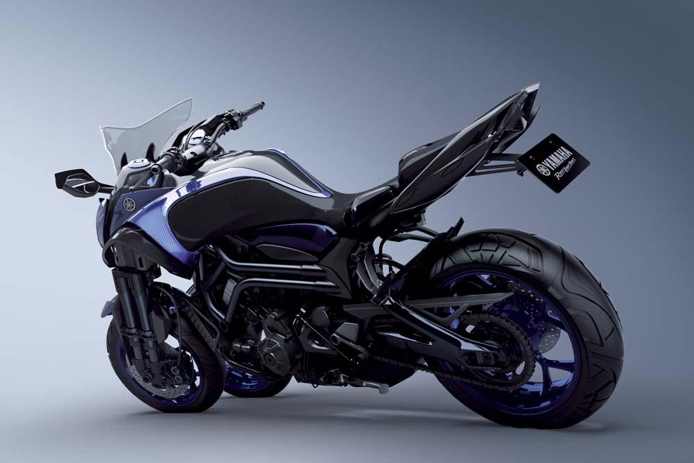 Triciclo Yamaha MWT-9