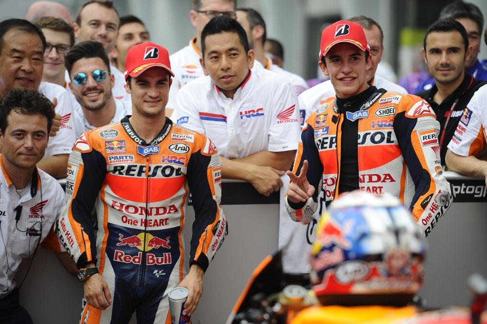 Márquez: Hay muchos más ojos puestos en mí, pero yo haré mi carrera