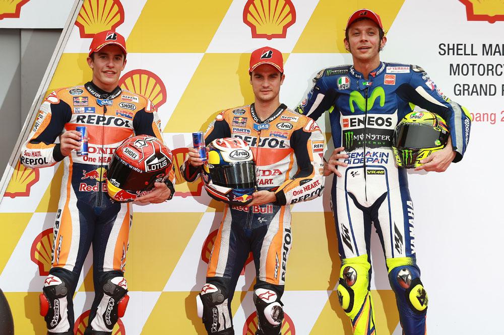Rossi: Pedrosa hará todo por ganar, Márquez no lo sé