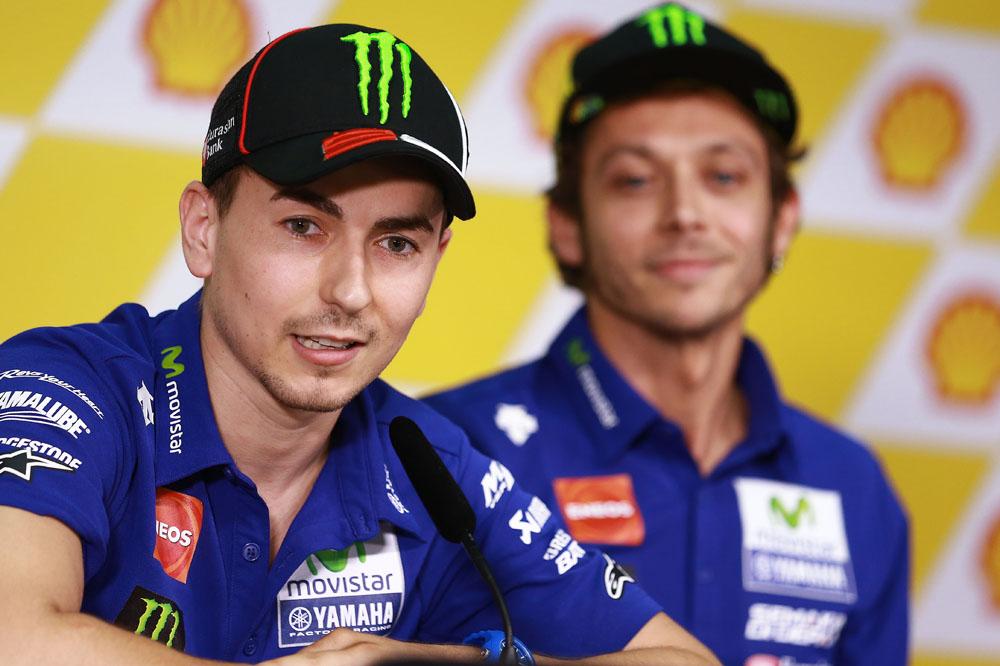 Lorenzo: Si Rossi siente presión, perfecto
