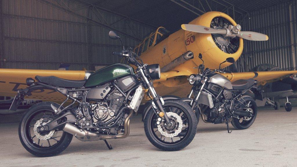 Probamos la Yamaha XSR700