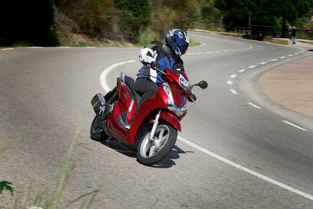 Prueba: Honda Scoopy SH300i