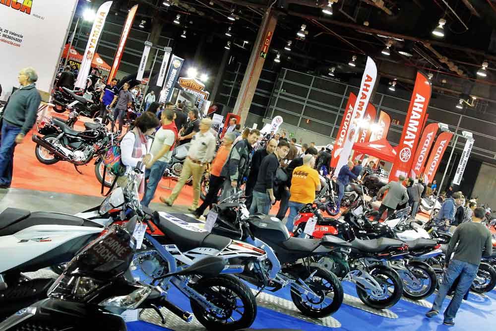 Salón de la Moto de Valencia 2015