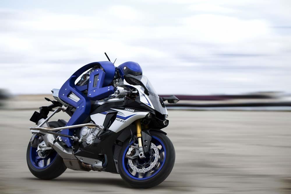 Motobot, el robot piloto de Yamaha