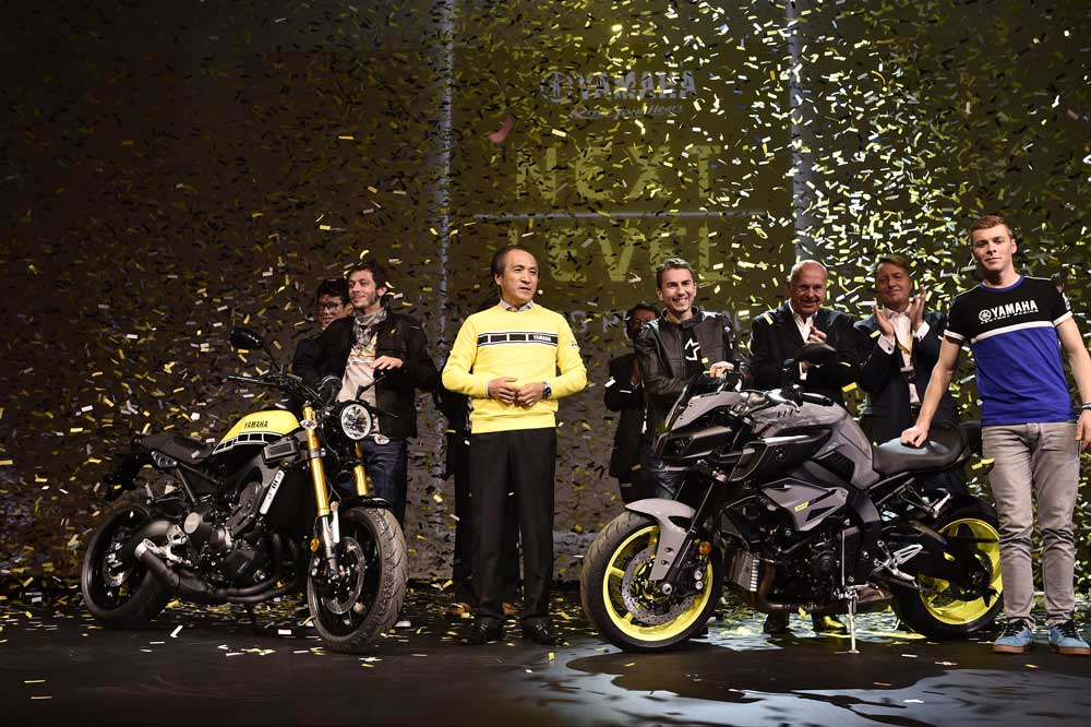 Las Yamaha que llegan en 2016