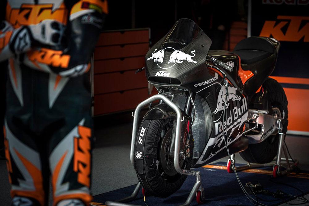 KTM de MotoGP: primeras fotos y vídeo