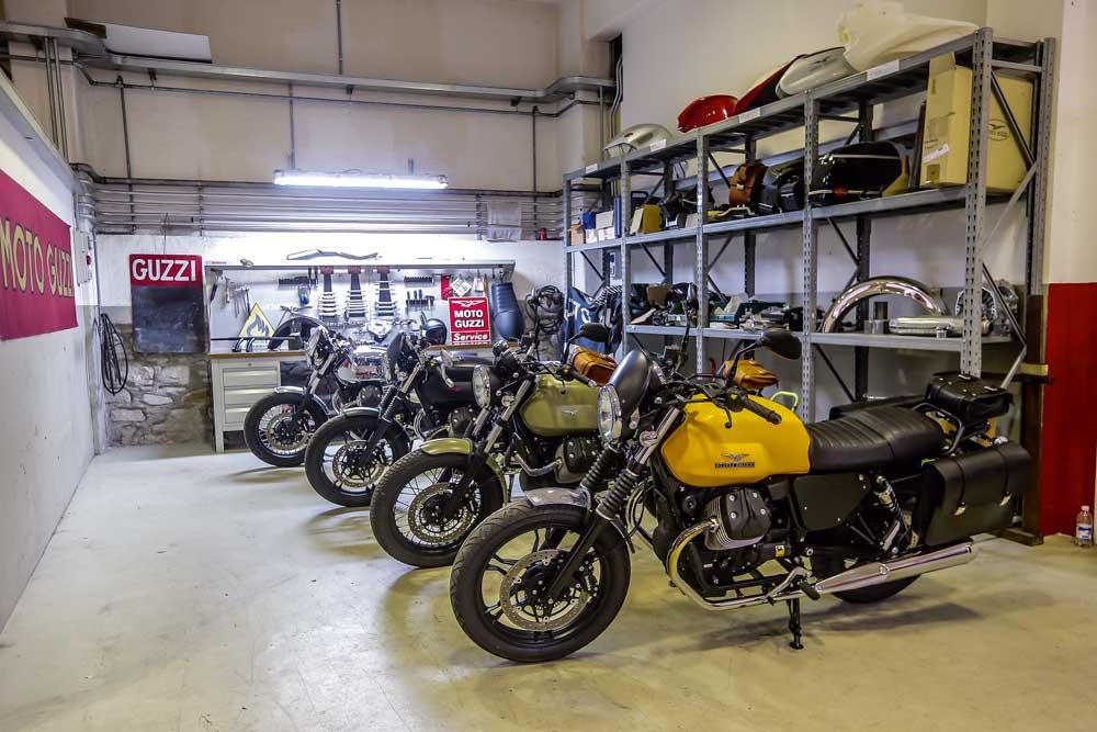 Presentación Moto Guzzi Garage