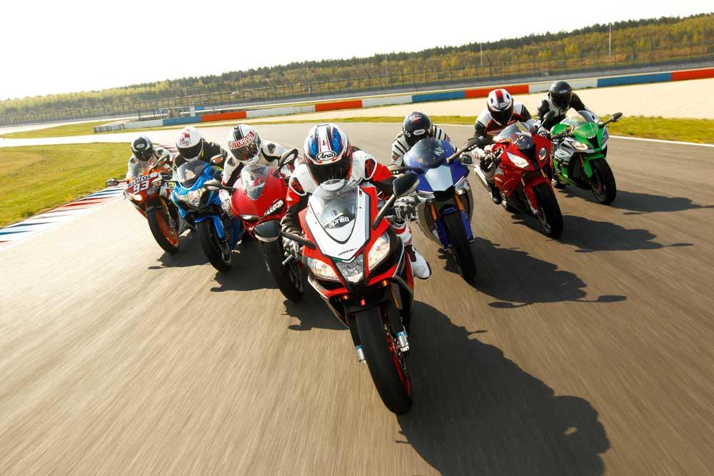 Comparativa 1000: Aprilia, BMW, Ducati, Honda, Kawasaki, Suzuki y Yamaha