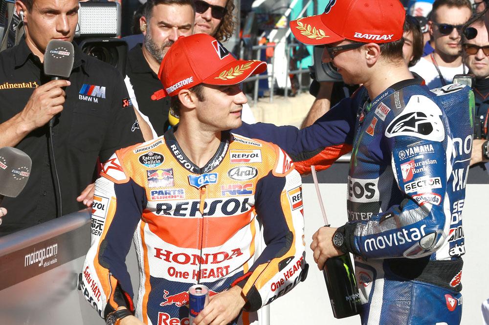 Dani Pedrosa: Creo que Rossi puede remontar bastante