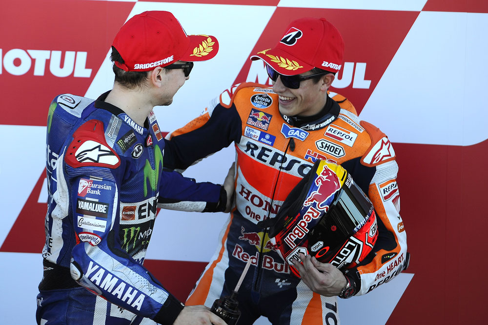 Marc Márquez: Rossi llegará rápido al cuarto puesto