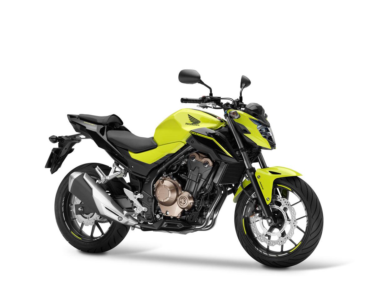 Honda renueva la CB500F