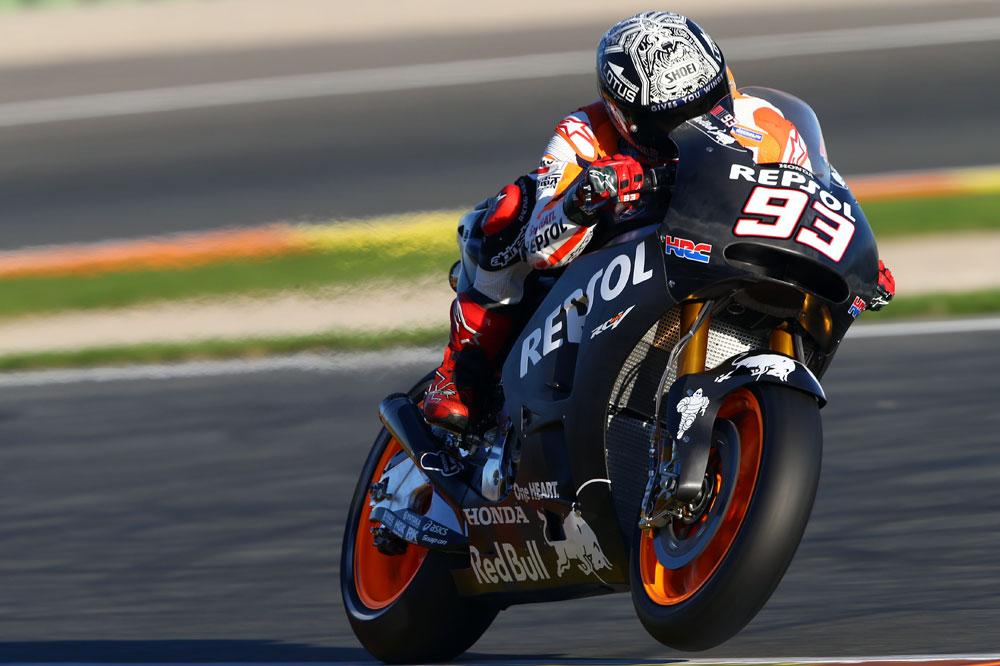 Márquez domina la nueva era Michelin