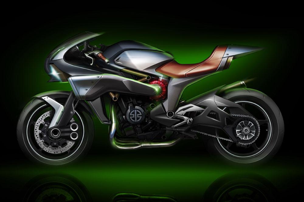 Kawasaki SC-01 Spirit Charger Concept 2016