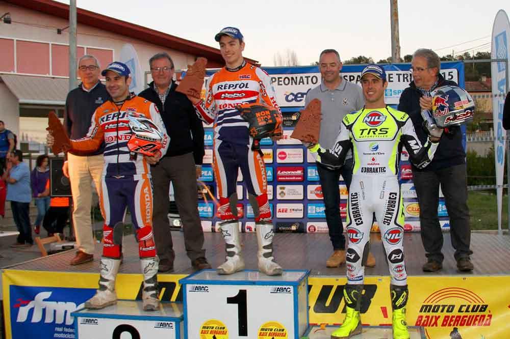 Toni Bou, Campeón de España de Trial