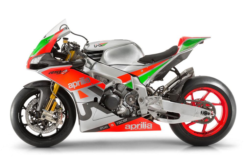 Aprilia RSV4 R FW, la herencia de SBK y MotoGP