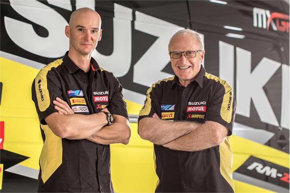 Suzuki y Stefan Everts suman fuerzas de nuevo