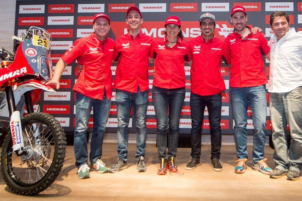 Himoinsa Racing Team presenta sus armas para el Dakar 2016