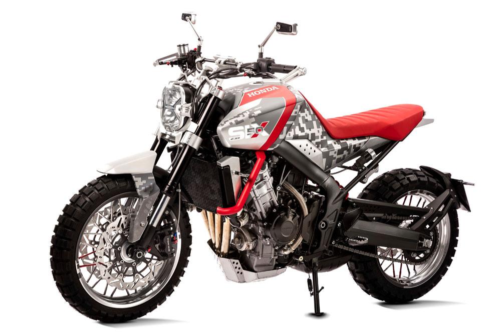 Honda CBSix50 Concept 2016