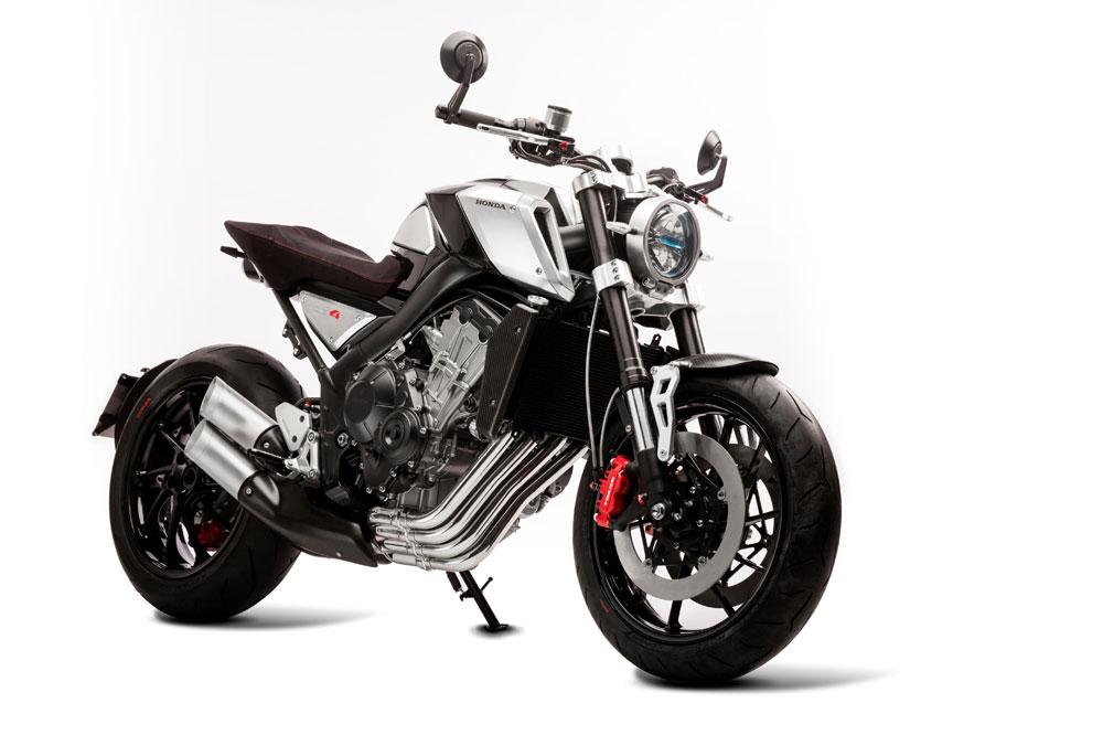La custom de Honda, la CB4