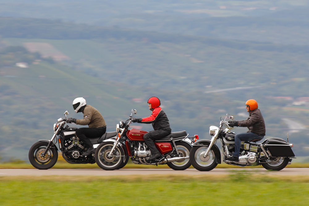 Comparativa aniversario: Honda, Yamaha y Harley-Davidson