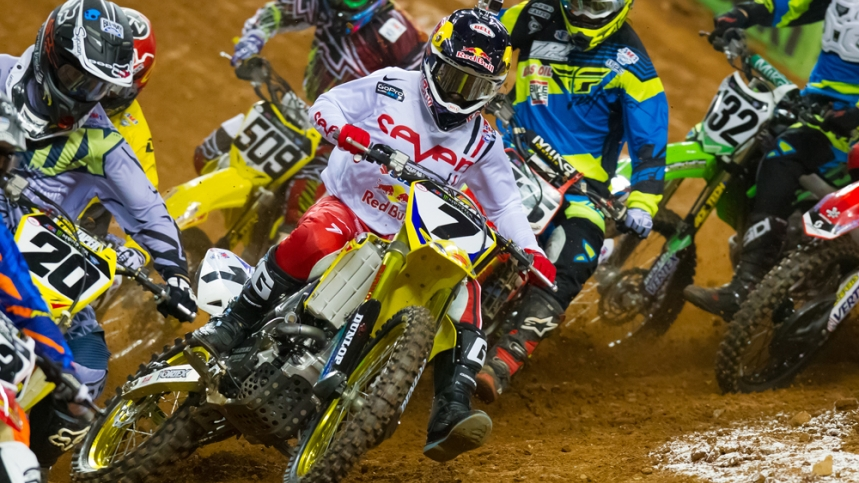 Calendario del Campeonato de Supercross 2016