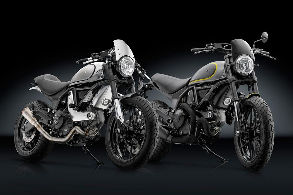 Rizoma presenta sus accesorios para la Ducati Scrambler