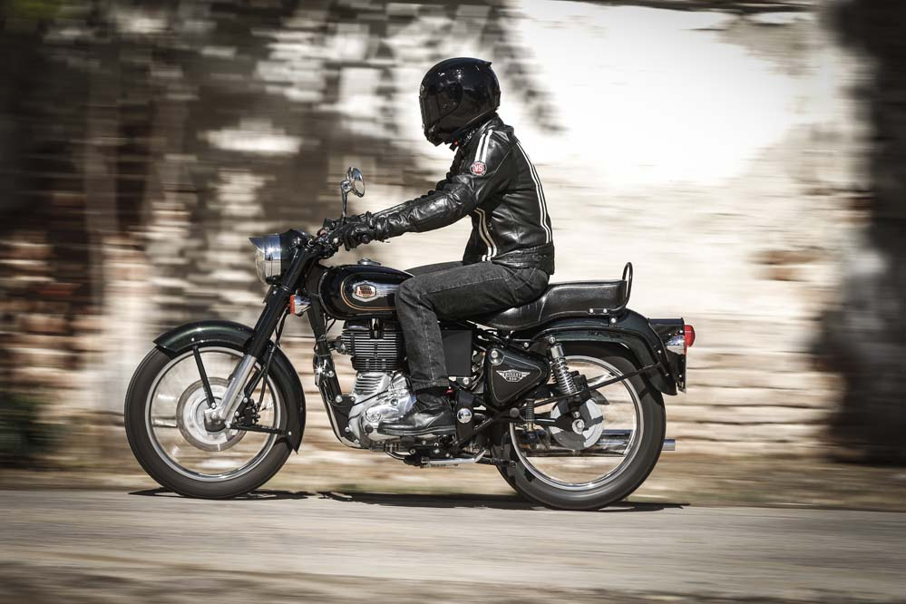 Prueba Royal Enfield Bullet 500 Pruebas Motociclismoes