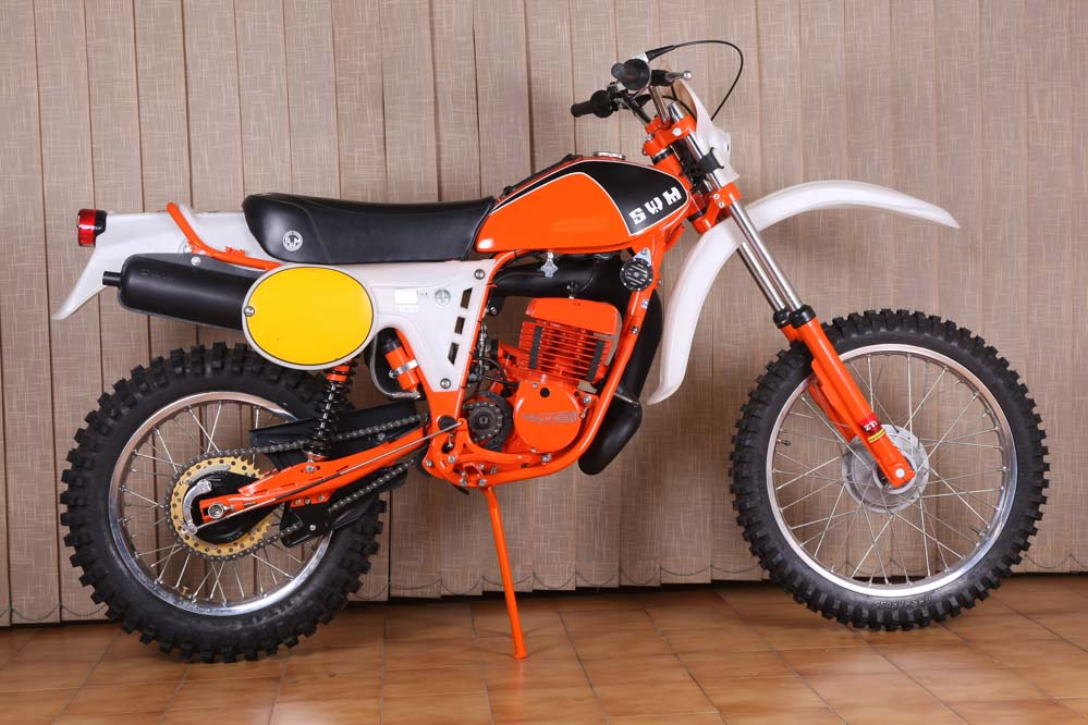 Moto clásica: SWM RS 370 GS TF1 1979