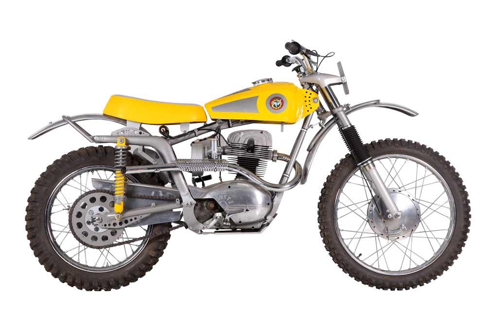 Moto clásica: MV Agusta DT 235 Motocross 1963