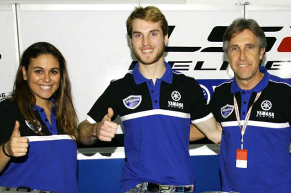 Guillermo Llano correrá con el Yamaha Stratos el FIM CEV SBK