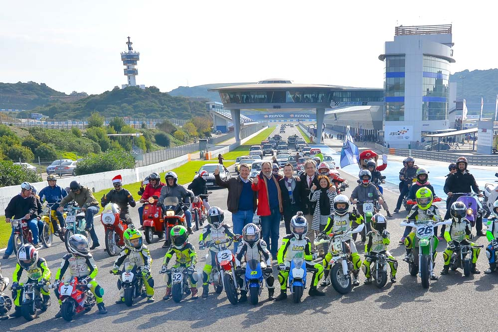 Éxito de participación en las Jornadas de Puertas Abiertas del Circuito de Jerez