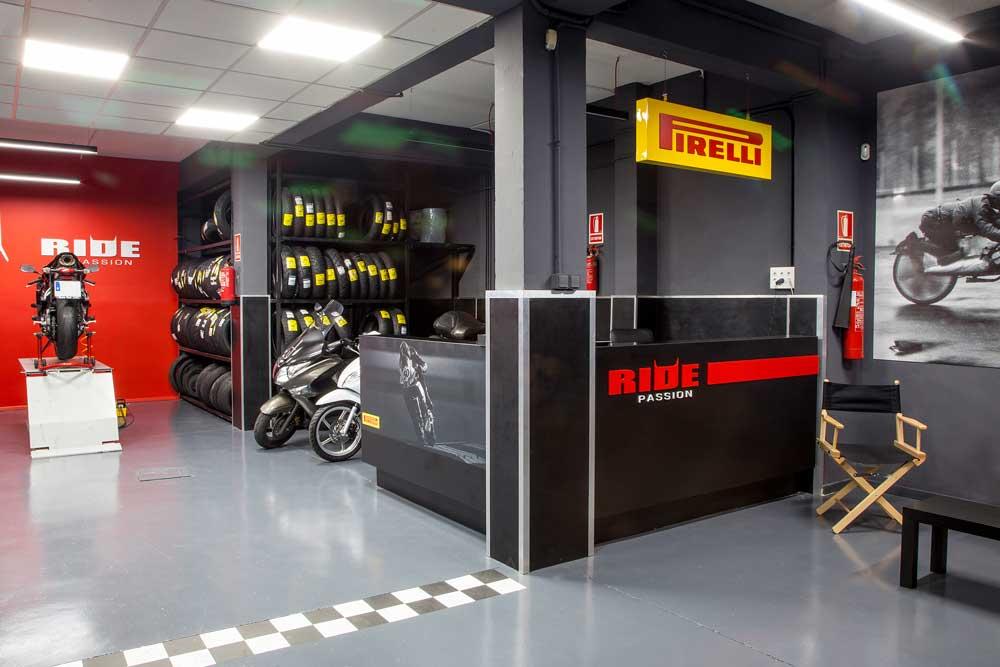 Pirelli abre un centro Ride Passion en Mallorca