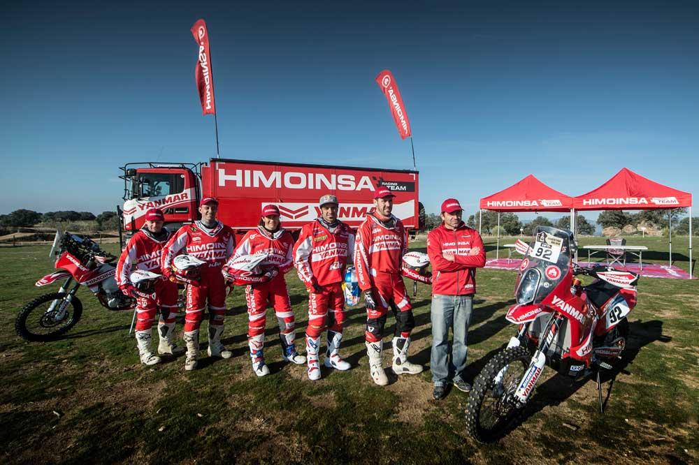 La preparación del HIMOINSA Racing Team para el Dakar