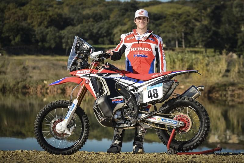 Ricky Brabec, nueva incorporación de HRC para el Dakar