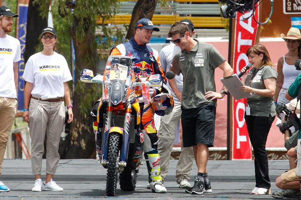 Victoria de Price en un Rallye Dakar enmarronado