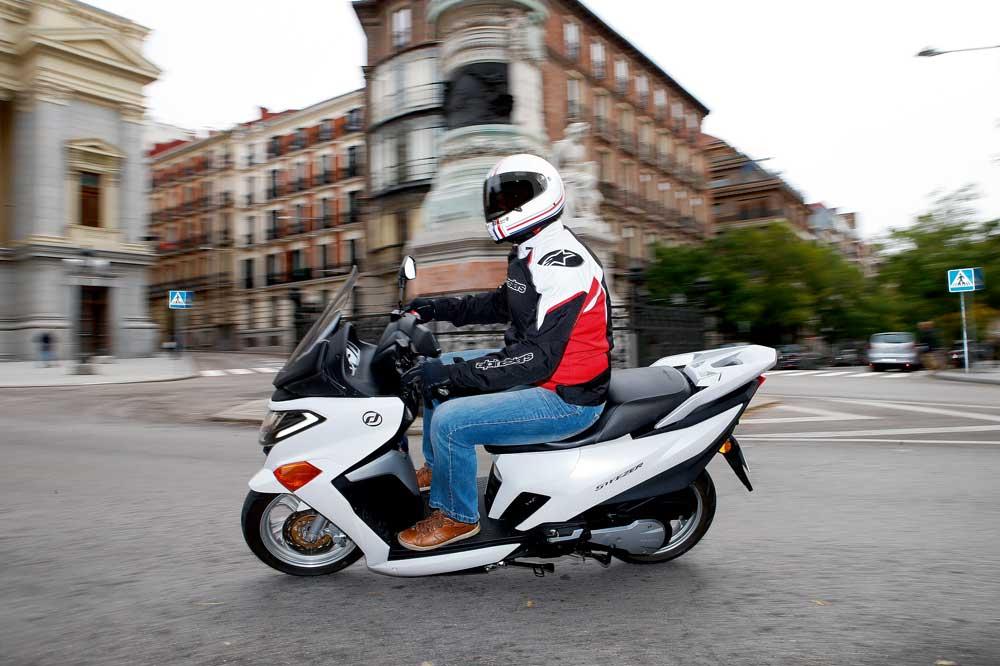 Promociones de invierno en los scooters Daelim