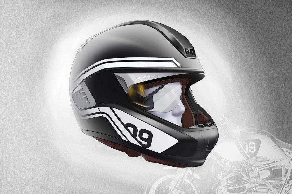 BMW prepara un casco multimedia