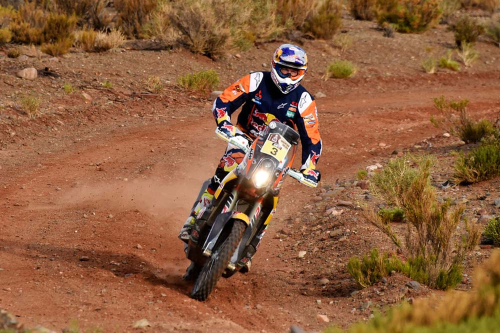 Dakar 2016: Toby Price ya tiene dos victorias, KTM y Honda igualan sus triunfos
