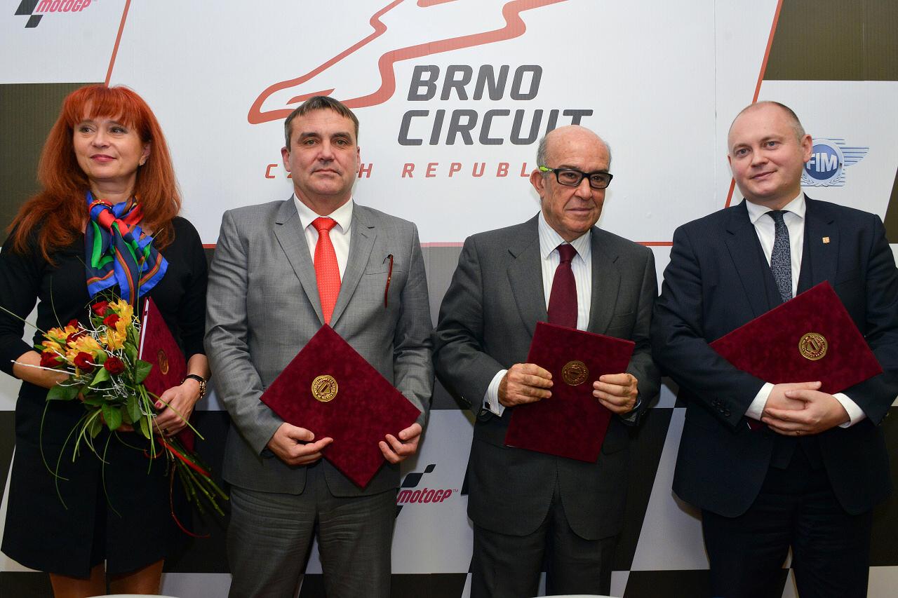 Dorna firma acuerdo con Brno hasta 2020