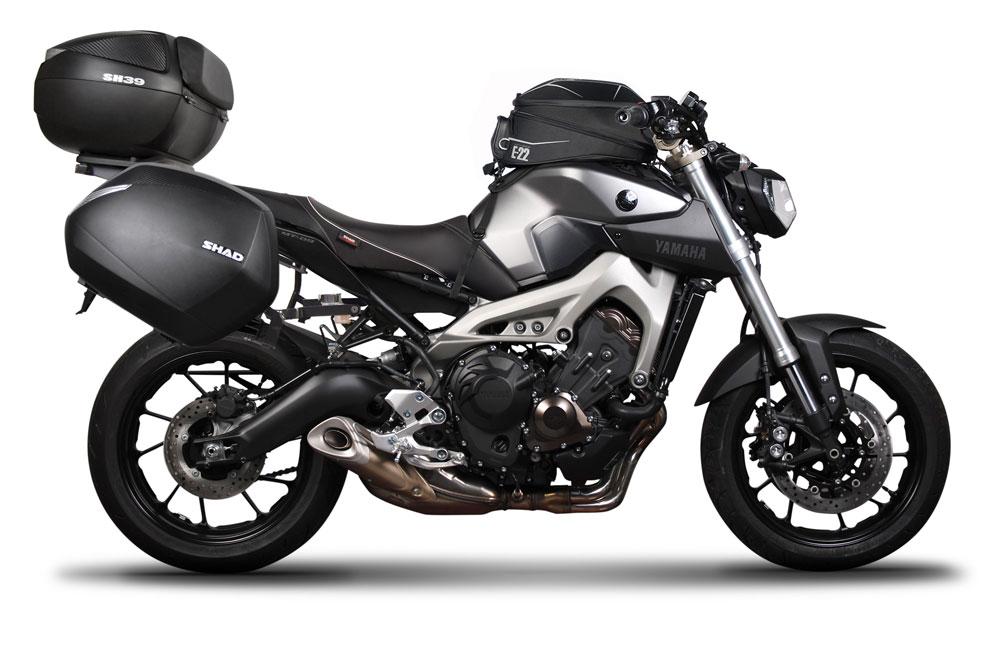 Accesorios Shad para la Yamaha MT-09
