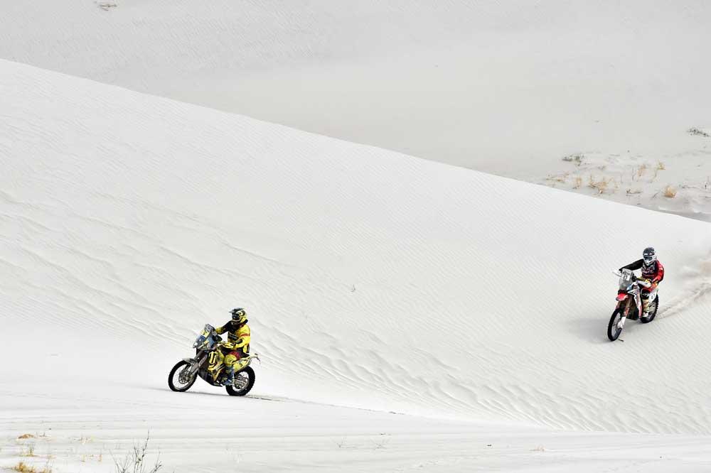 Stefan Svitko se estrena como ganador en el Dakar
