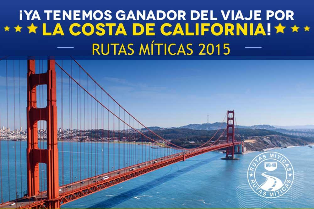 WD-40 anuncia el ganador de su Campaña Rutas Míticas 2015