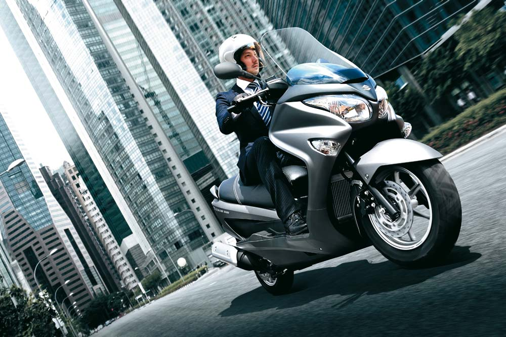 Suzuki Burgman 125 y 200 a un precio inmejorable