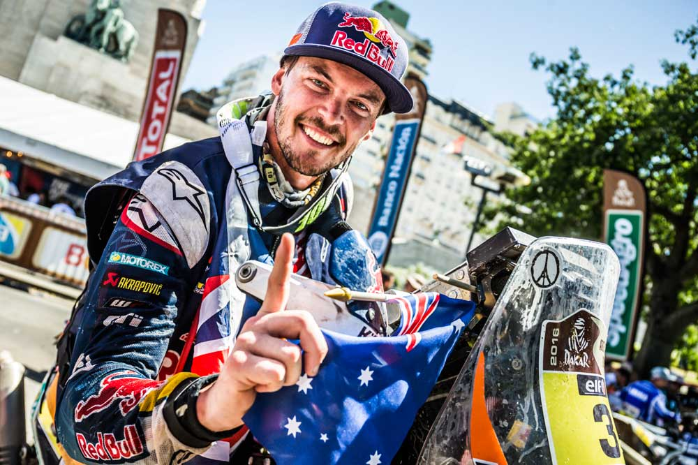 Toby Price gana el Dakar