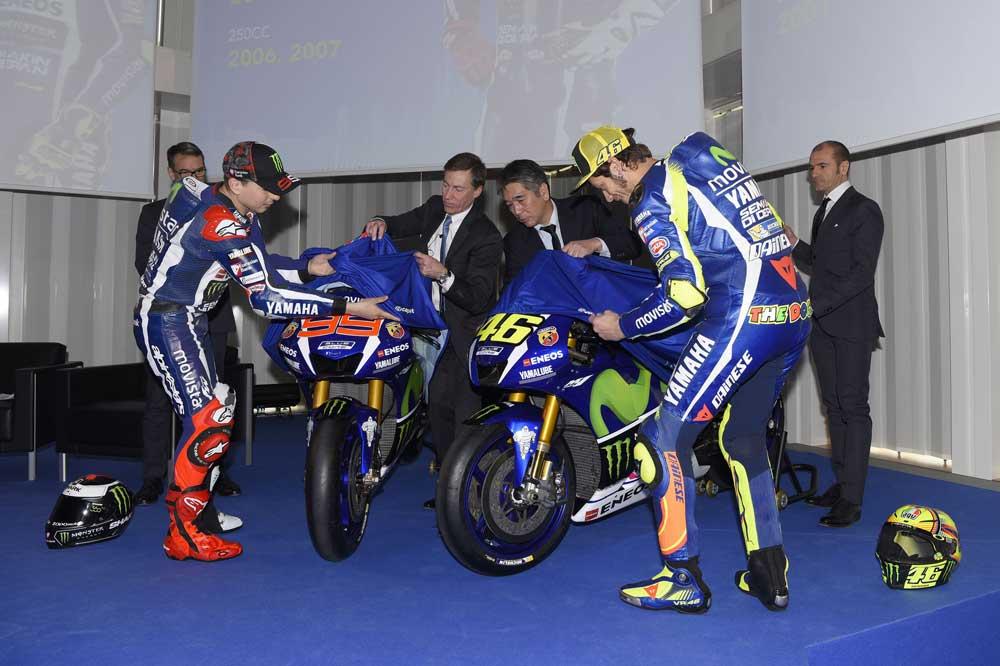 Presentación Movistar Yamaha MotoGP
