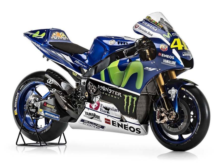 ¿Qué te parece el diseño del equipo Movistar Yamaha MotoGP 2016?
