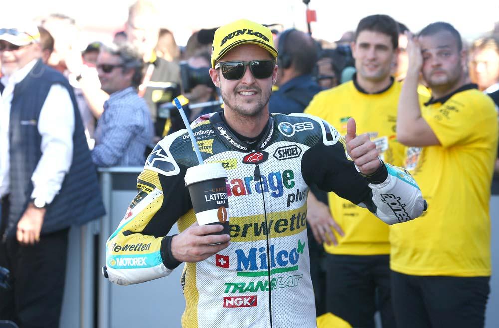 Thomas Luthi, piloto de pruebas de KTM en MotoGP