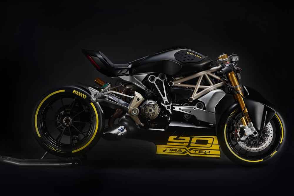 La Ducati draXter, presentada en la Motor Bike Expo