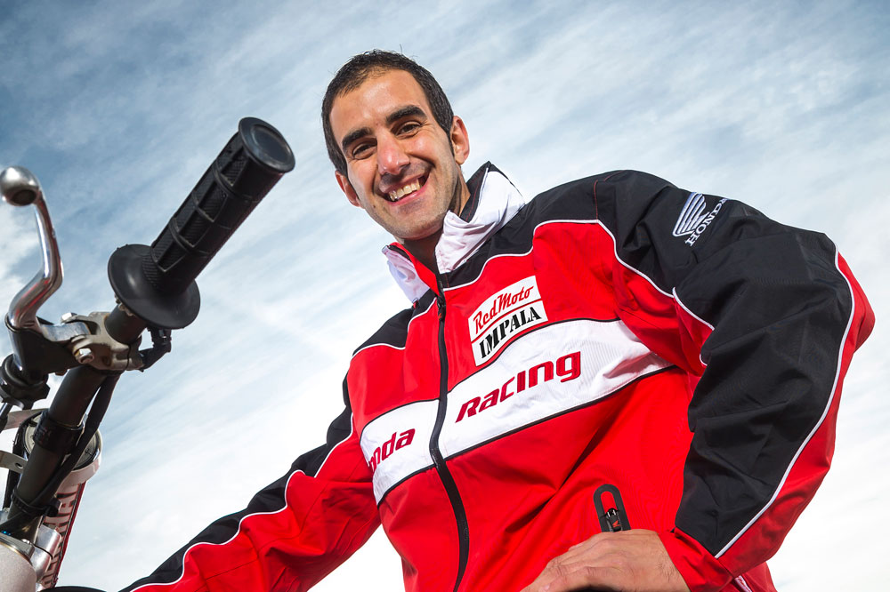 Oriol Mena, al Mundial de Enduro 2 2016 con Honda